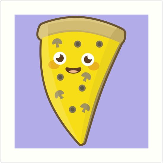 Kawaii Pizza by NirPerel