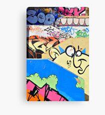 Graffiti steps 2. Canvas Print