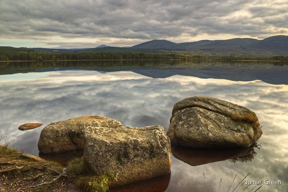 Loch Garten by Jamie  Green