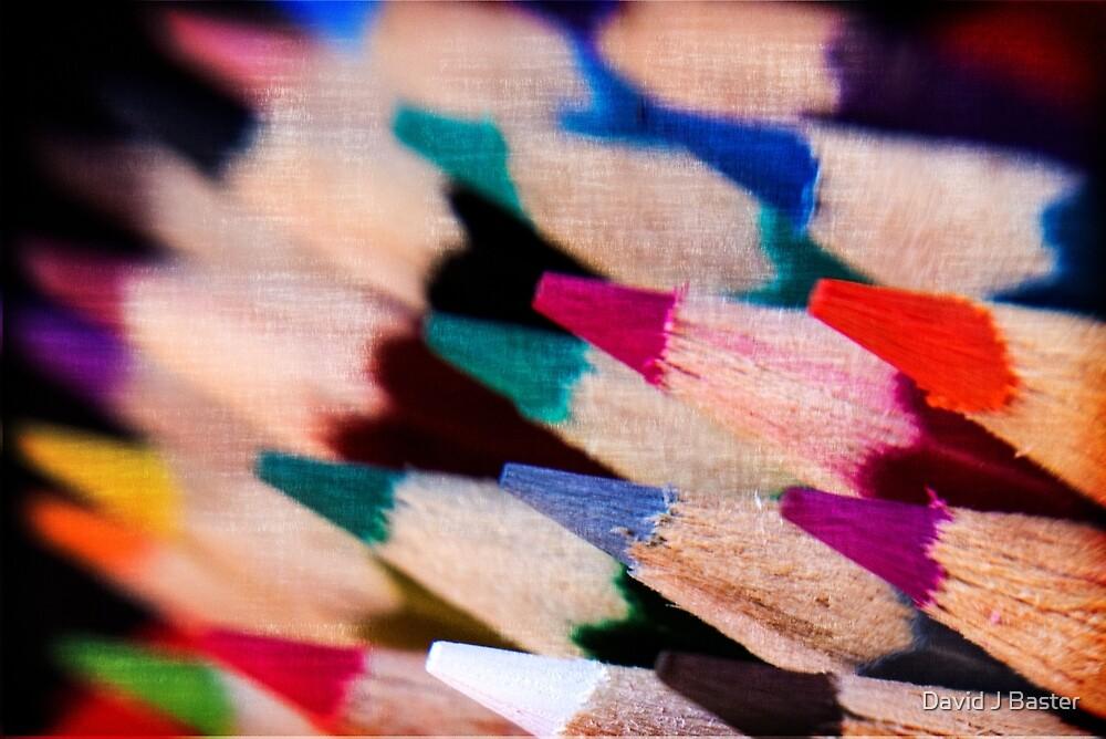Colour Pencil texture by David J Baster