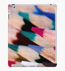 Colour Pencil texture iPad Case/Skin