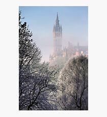 Kelvingrove Winter (3) Photographic Print