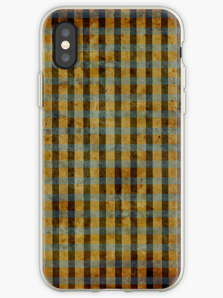 Gingham Man iphone case  by rupydetequila
