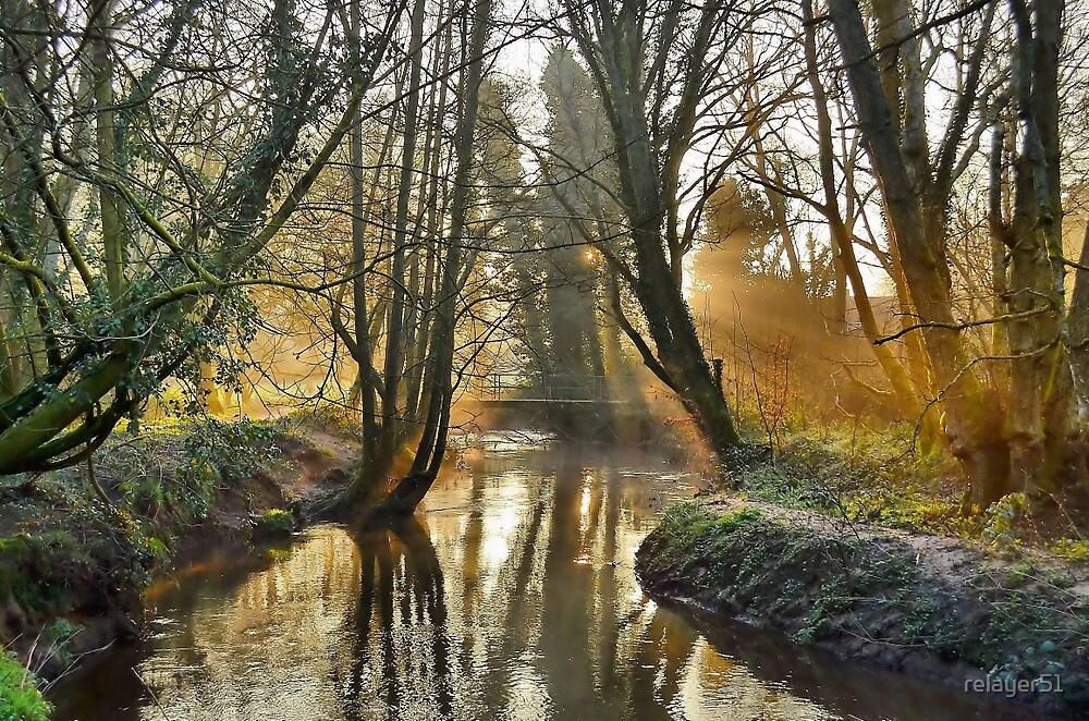 Early Morning Sun On The  ' WEY ' by relayer51