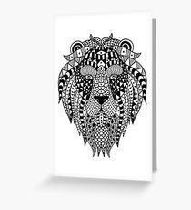 Lion gift Greeting Card