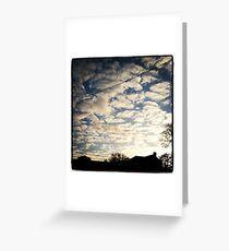 Norfolk Sky Greeting Card