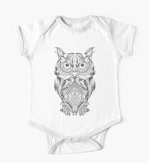Owl gift One Piece - Short Sleeve