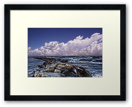 Rocky Pier by Dennis Granzow
