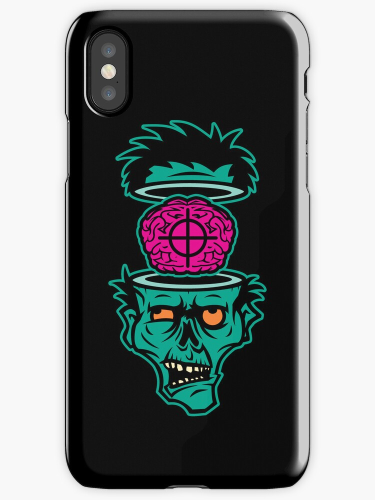 Shoot 'em in da Head Bro (Iphonecase)  by Bamboota