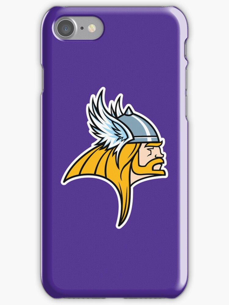 Asgard Thunder Iphone Case by Bamboota