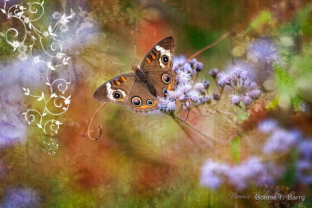 Buckeye Butterfly by Bonnie T.  Barry