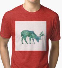 Prongs Watercolour Tri-blend T-Shirt