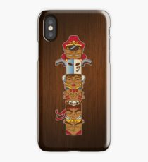 Street Fighter Totem iPhone Case/Skin
