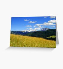 Afternoon ~ Austria Europe Greeting Card