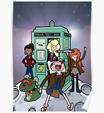 Adventure Time Lord Planetfall Poster