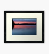 Cowell Lake Framed Print