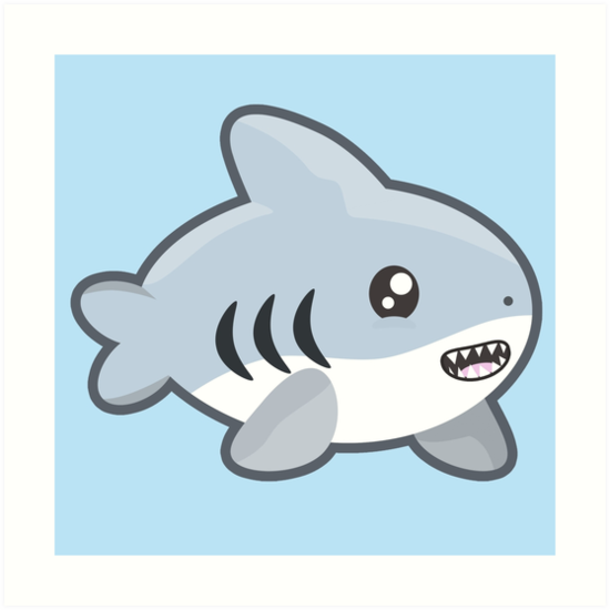 Kawaii Shark by NirPerel
