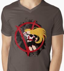 Sailor V for Vendetta Men's V-Neck T-Shirt