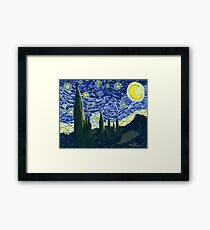 Starry, Starry Night Framed Print