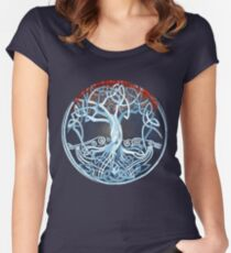 Heart tree (celtic style) Women's Fitted Scoop T-Shirt