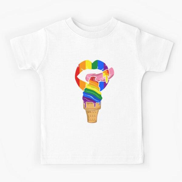 Uni Cream Unicorn Ice Cream Cone 8 Bit Retro T Shirt Vintage 80s Pixel Art Tee
