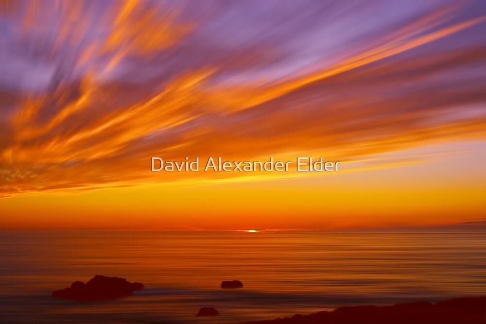 SunBurst SeaScape by David Alexander Elder