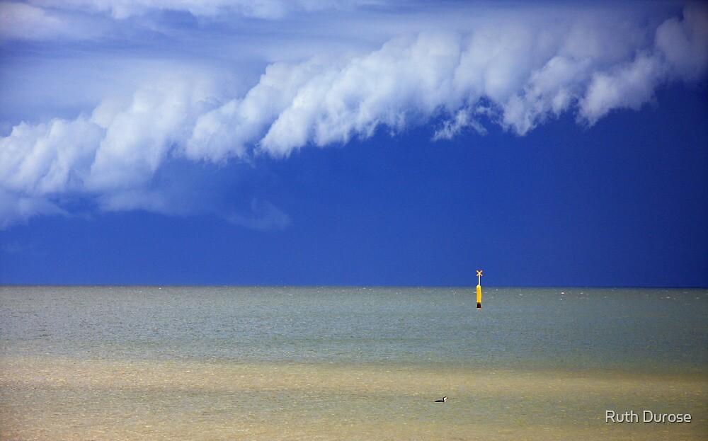 Storm Cloud - Port Phillip Bay, Melbourne by Ruth Durose