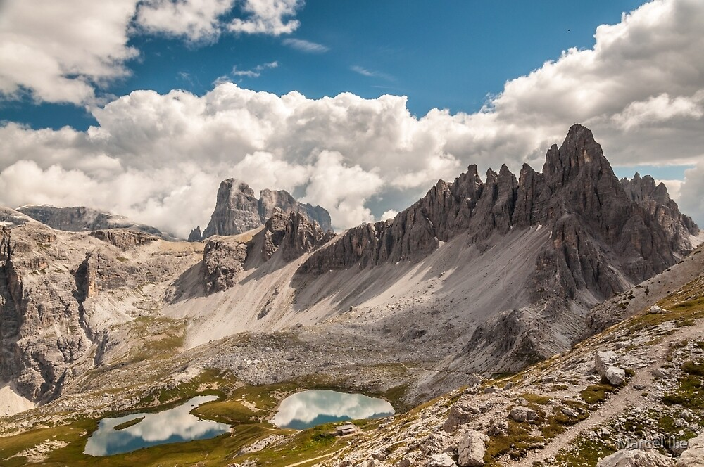 Monte Paterno by Marcel Ilie