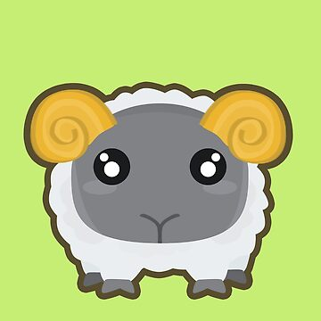 Kawaii Sheep by NirPerel