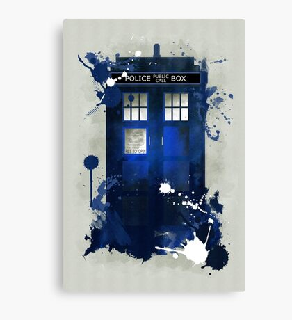 Doctor Who: Tardis Giclee Art Print Canvas Print