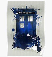Doctor Who: Tardis Giclee Art Print Poster