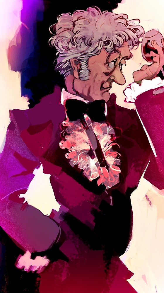 Jon Pertwee as the 3rd Doctor by pikse