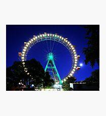 Prater Wheel Photographic Print