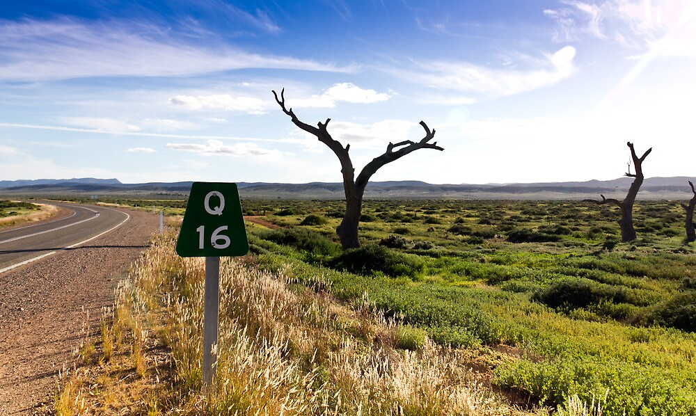 16 Kms To Quorn by Russell Charters