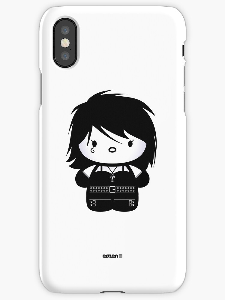 Chibi-Fi Death of the Endless (iPhone Case) by Eozen