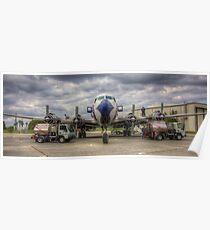 Refueling -- EAL DC-7B Poster