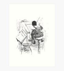 Adolf Oberländer or Oberlander Fliegende Blaetter 73 194 b1 Art Print