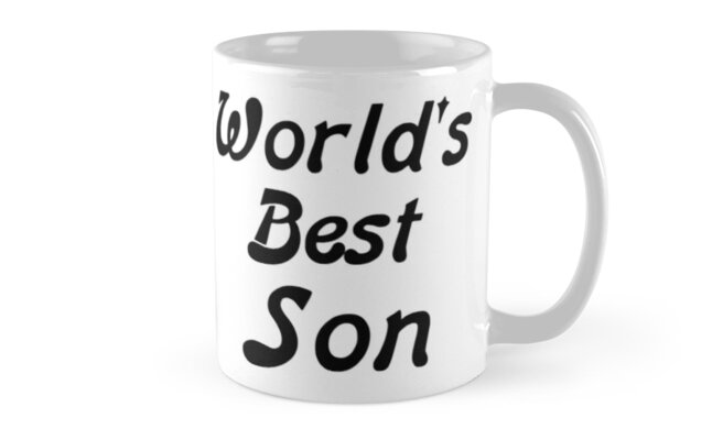 World's Best Son by PingusTees
