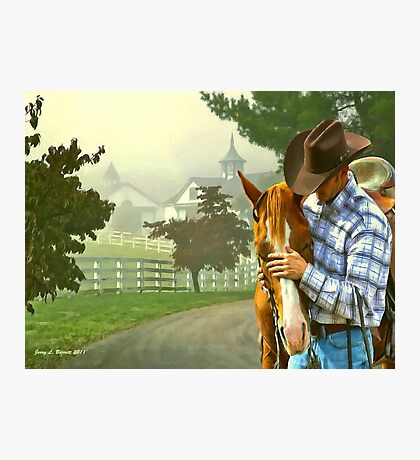 Horse Whisperer Photographic Print
