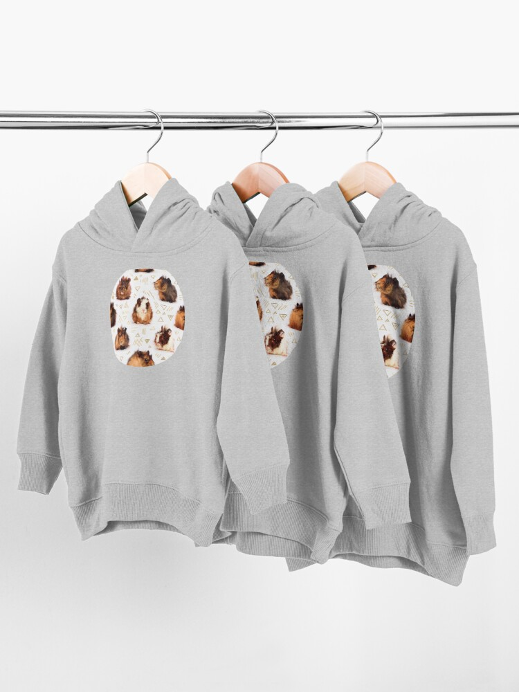Alternate view of The Essential Guinea Pig Toddler Pullover Hoodie