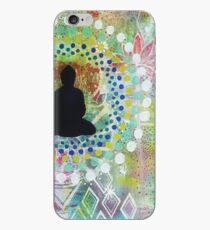 may all beings have happiness iPhone Case