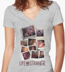 Pictures Women's Fitted V-Neck T-Shirt