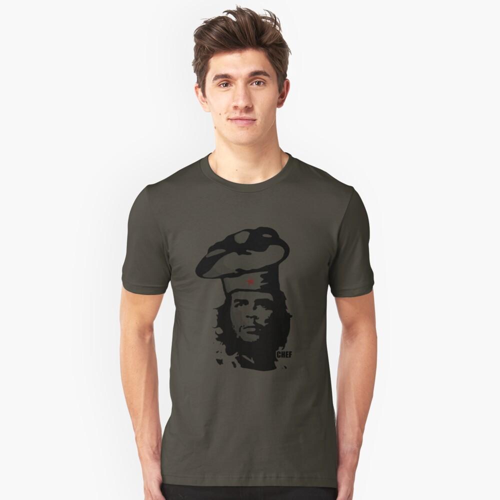 Chef Guevara Unisex T-Shirt Front