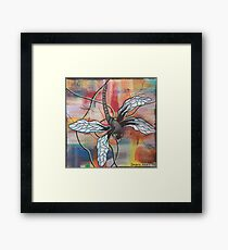 Kris the dragonfly Framed Print