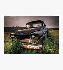 Chevy truck Photographic Print