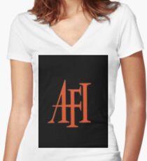 af1 Women's Fitted V-Neck T-Shirt
