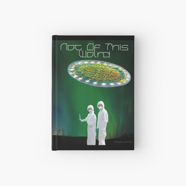 Not of This World Hardcover Journal