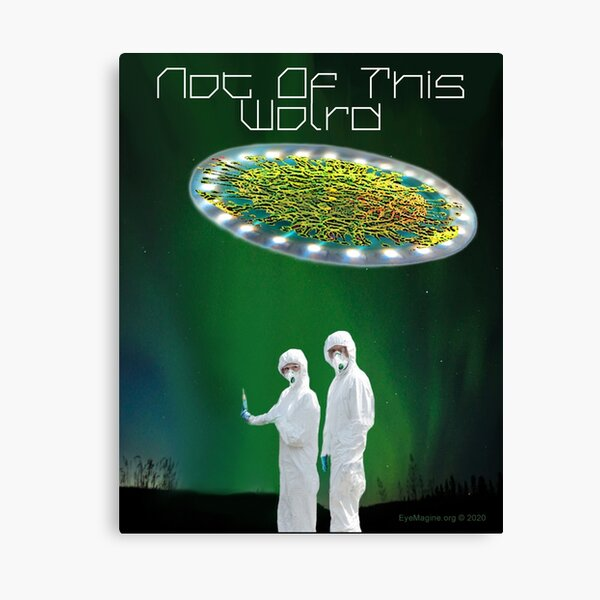 Not of This World Canvas Print