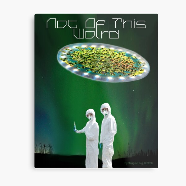 Not of This World Metal Print