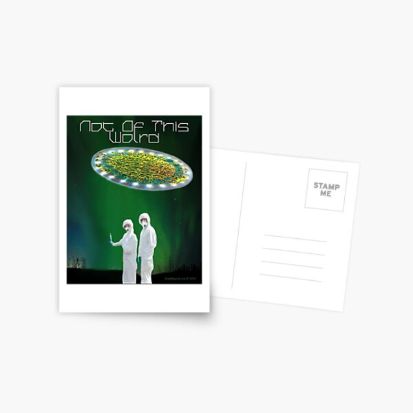 Not of This World Postcard